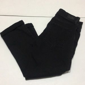 Levi's modern crop jeans